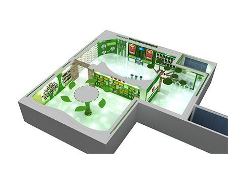 西安鼎瞻展览,专业农业展厅设计,农产品展厅制作,展厅装修